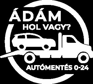 autómentés autómentő ádám hol vagy logó